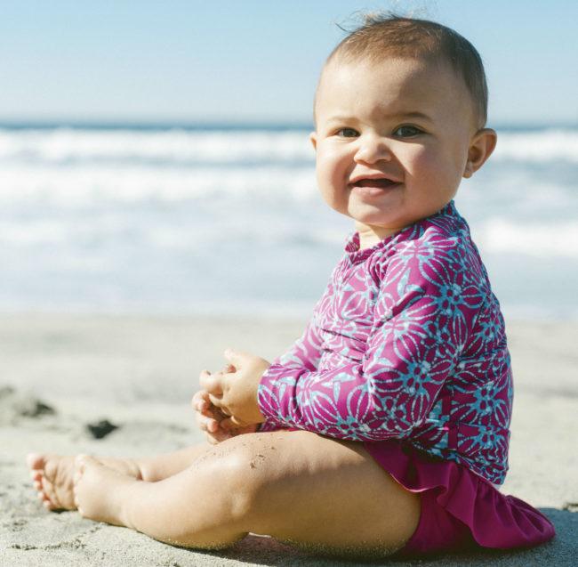 tea swim baby girl