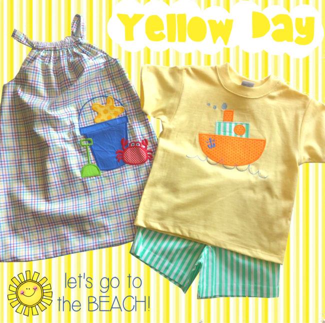yellow day sale