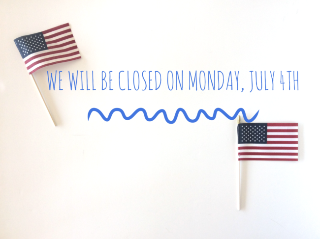 july 4 closed