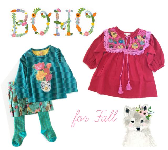 little boho girls