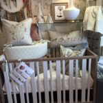 nursery 2 new crib and coral and tusk