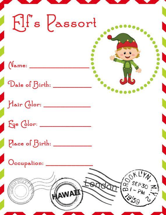 Elf Passport Cotton Tails